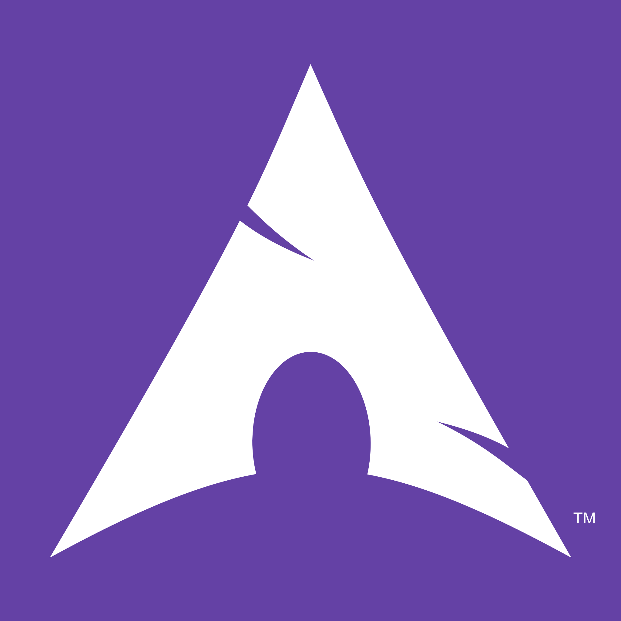 The Twitch installs Arch logo